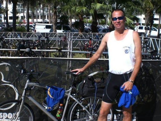 DJ was a good runner and athlete before brain injury and still bikes regularly.