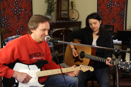 Jeremiah and Sarah perform Jeremiah's music. Jeremiah is also writing songs after brain injury.