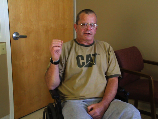 TBI Rehabilitation: Mike has left-sided neglect from his severe brain injury.