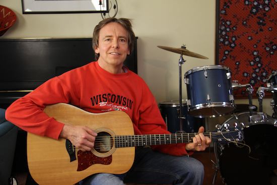 Jeremiah uses music with his continuing brain injury recovery.